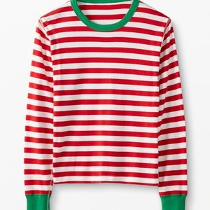 🍁 Hanna Andersson Long John Pajama Top Holiday